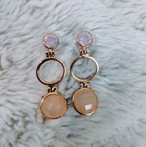 Francesca's Gold Drop Earrings   Stud